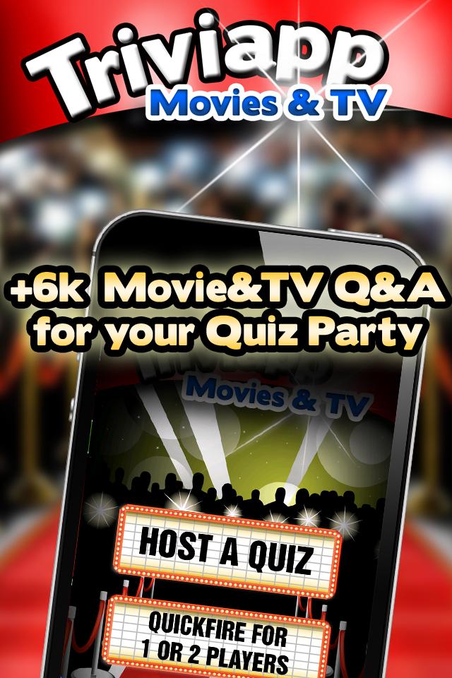 Screenshot Triviapp Quiz Party * Movies & TV